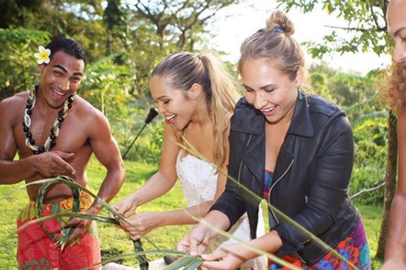 Coconut Weaving